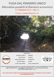 FUGA DAL PENSIERO UNICO @ Info Point | Firenze | Toscana | Italia