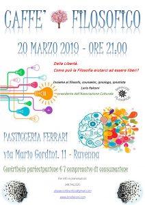 CAFFE' FILOSOFICO. DELLA LIBERTA' @ Pasticceria Ferrari | Ravenna | Emilia-Romagna | Italia
