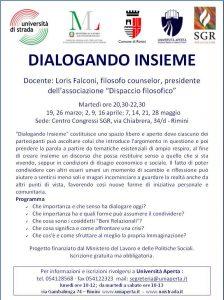 DIALOGANDO INSIEME @ Centro Congressi SGR | Bellariva | Emilia-Romagna | Italia