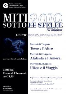 MITI SOTTO LE STELLE. L'EROE CHE E' DENTRO DI NOI @ Piazza del Tramonto - Cattolica | Cattolica | Emilia-Romagna | Italia