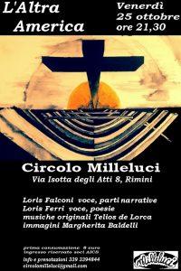 L'ALTRA AMERICA @ Circolo Milleluci | Rimini | Emilia-Romagna | Italia