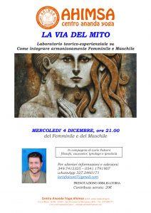 LA VIA DEL MITO @ Centro Ananda Yoga Ahimsa | San Giovanni In Marignano | Emilia-Romagna | Italia
