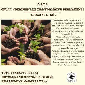 G.S.T.P. GRUPPI SPERIMENTALI TRASFORMATIVI PERMANENTI @ Hotel Grand Meeting | Roma | Lazio | Italia