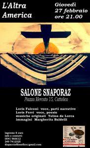 L'ALTRA AMERICA A CATTOLICA @ Salone Snaporaz   Cattolica   Emilia-Romagna   Italia